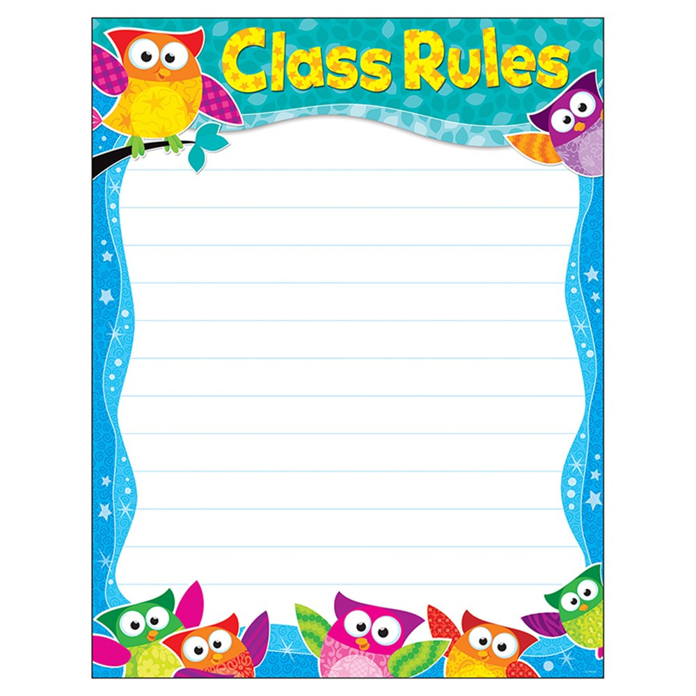 Class Rules Owl-Stars!? Learning Chart - T-38444 | Trend