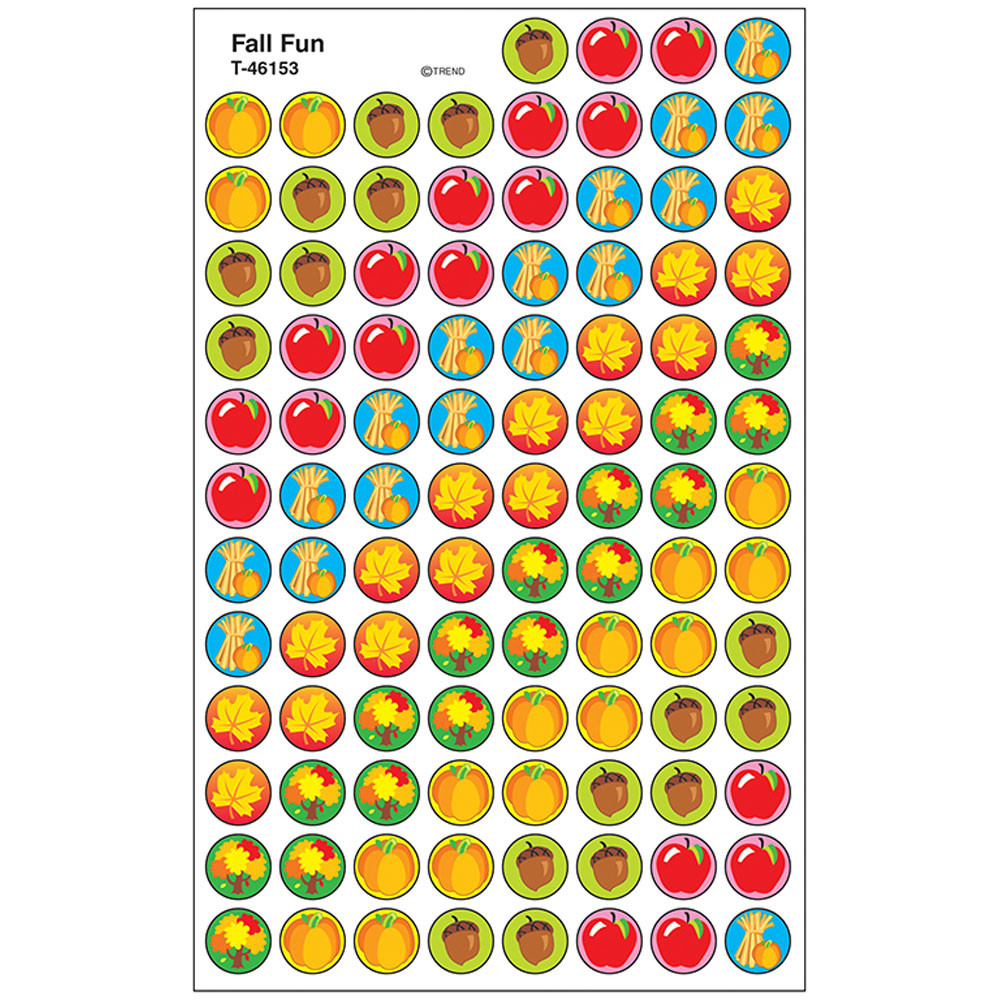 T-46153 - Superspots Stickers Fall Fun in Holiday/seasonal