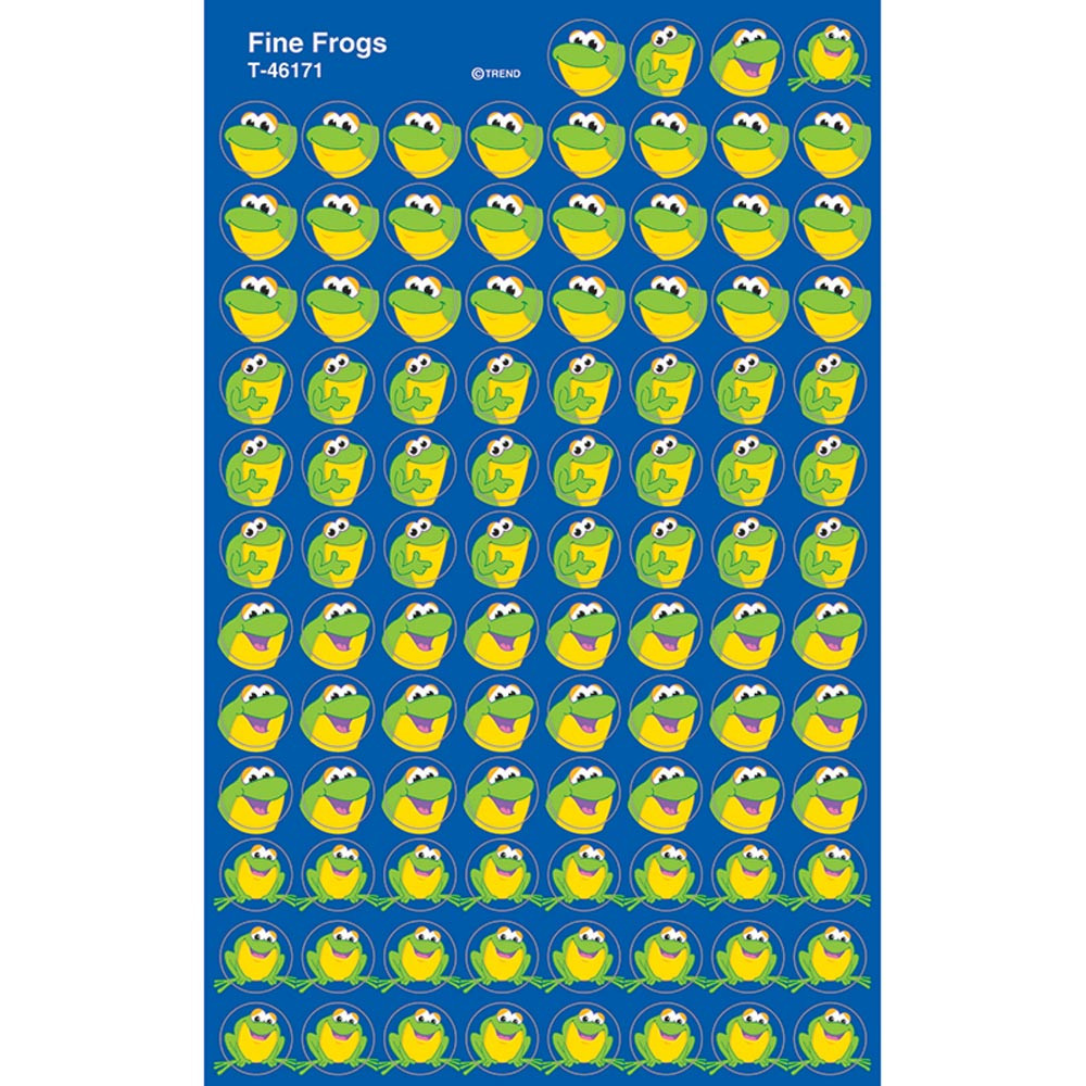 T-46171 - Superspots Stickers Fine Frogs in Stickers