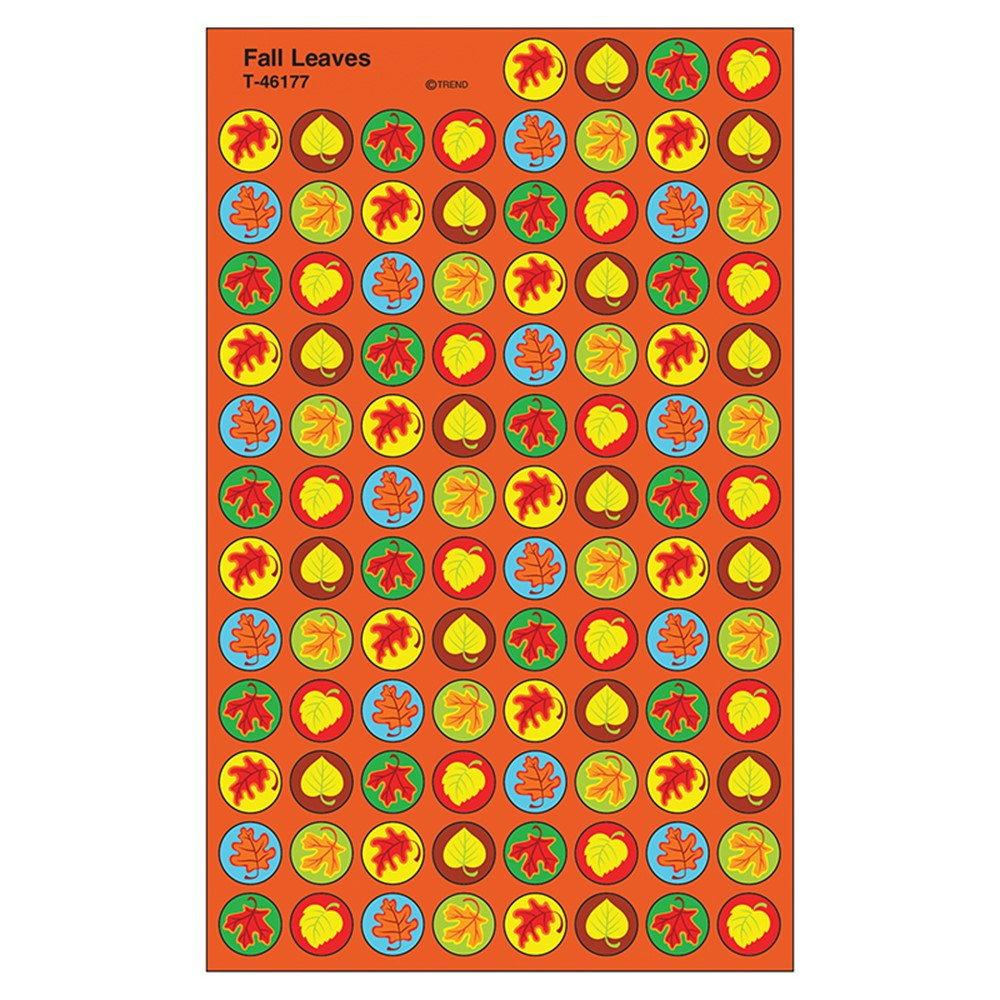 T-46177 - Fall Leaves Superspot Shapes Stickers in Holiday/seasonal