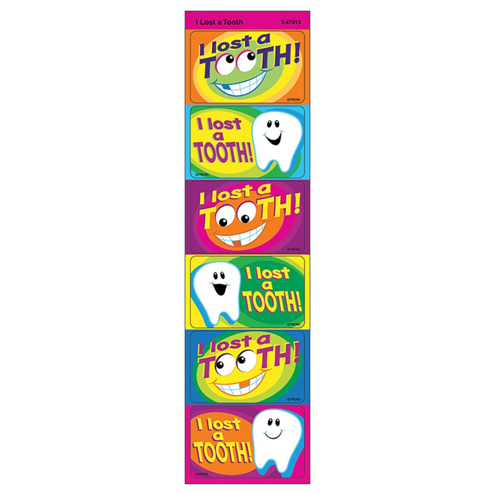 T-47313 - Applause Stickers I Lost A Tooth in Stickers