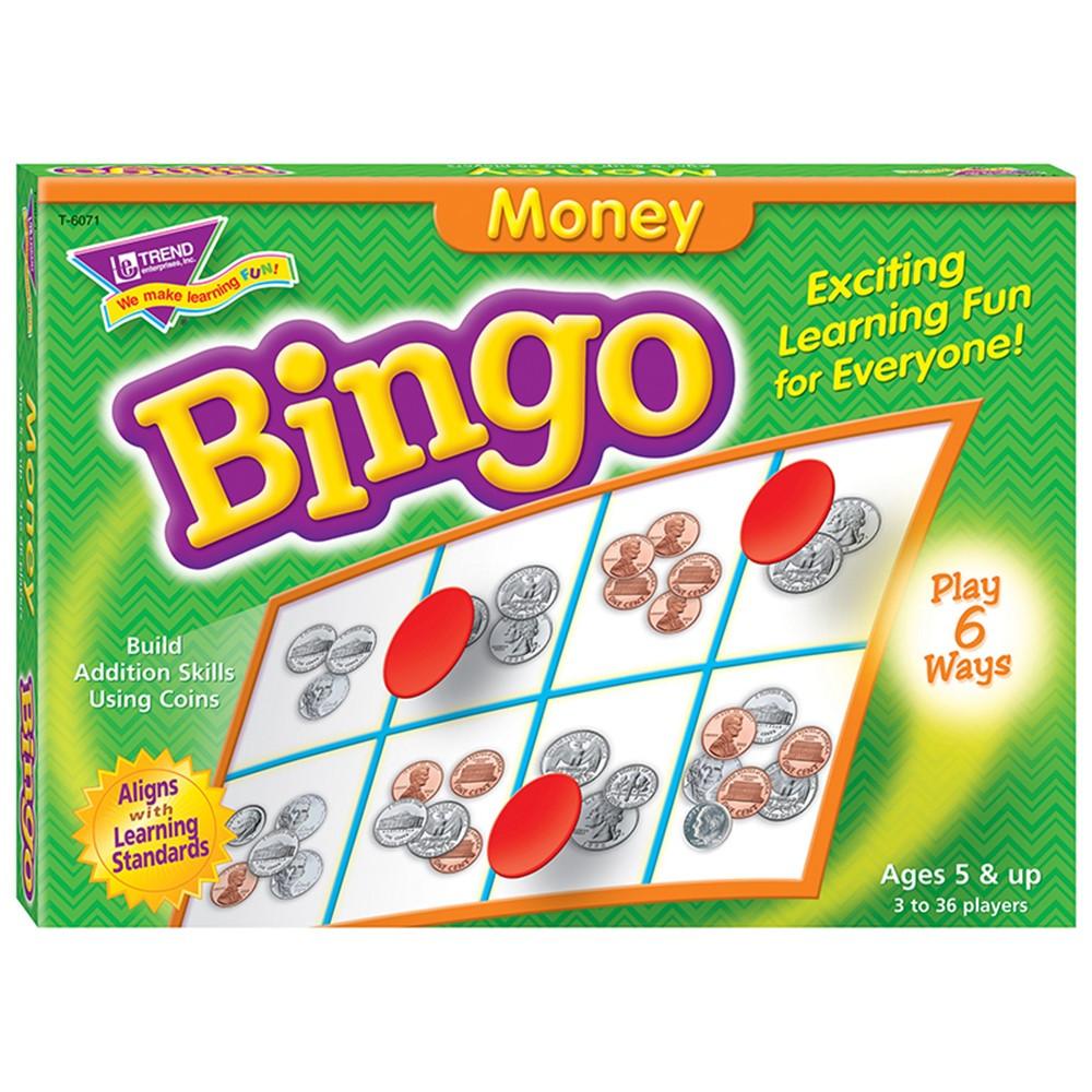 T-6071 - Bingo Money Ages 5+ in Bingo