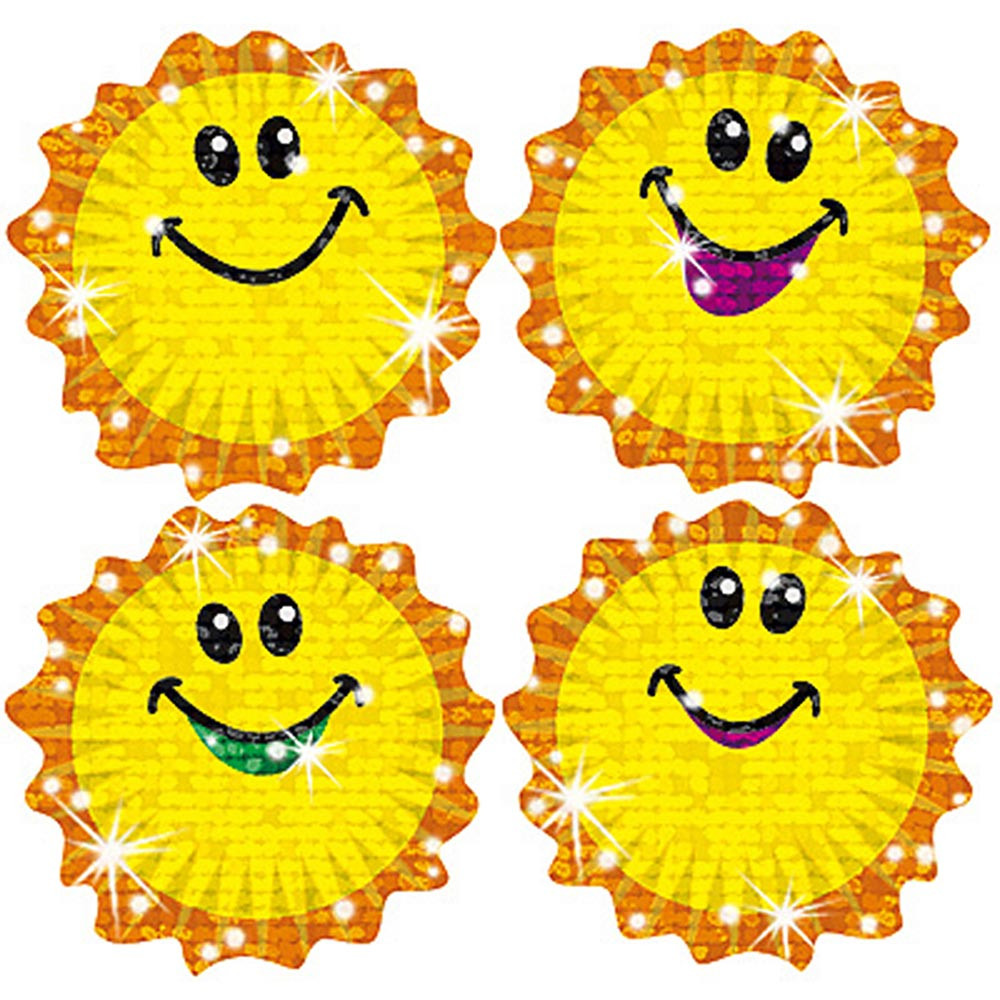 T-63304 - Sparkle Stickers Shimmering Suns in Stickers