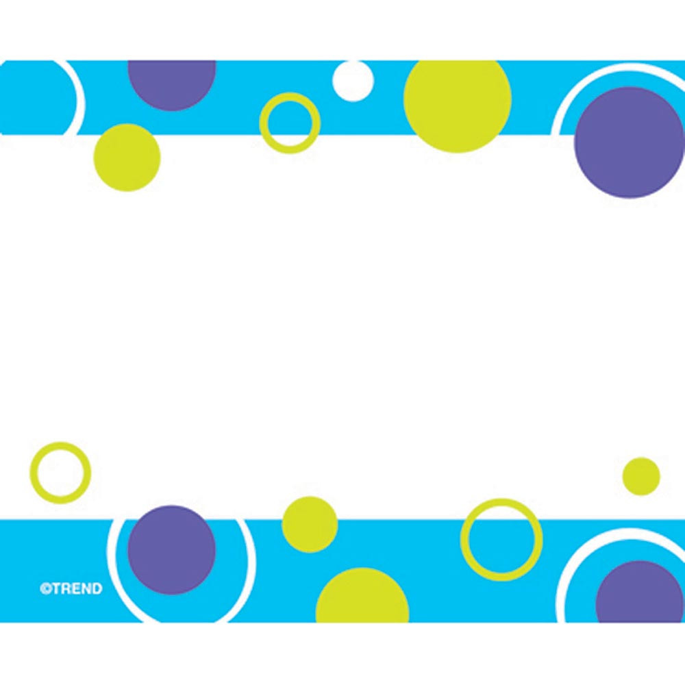 T-68036 - Blue Fizz Name Tags in Name Tags