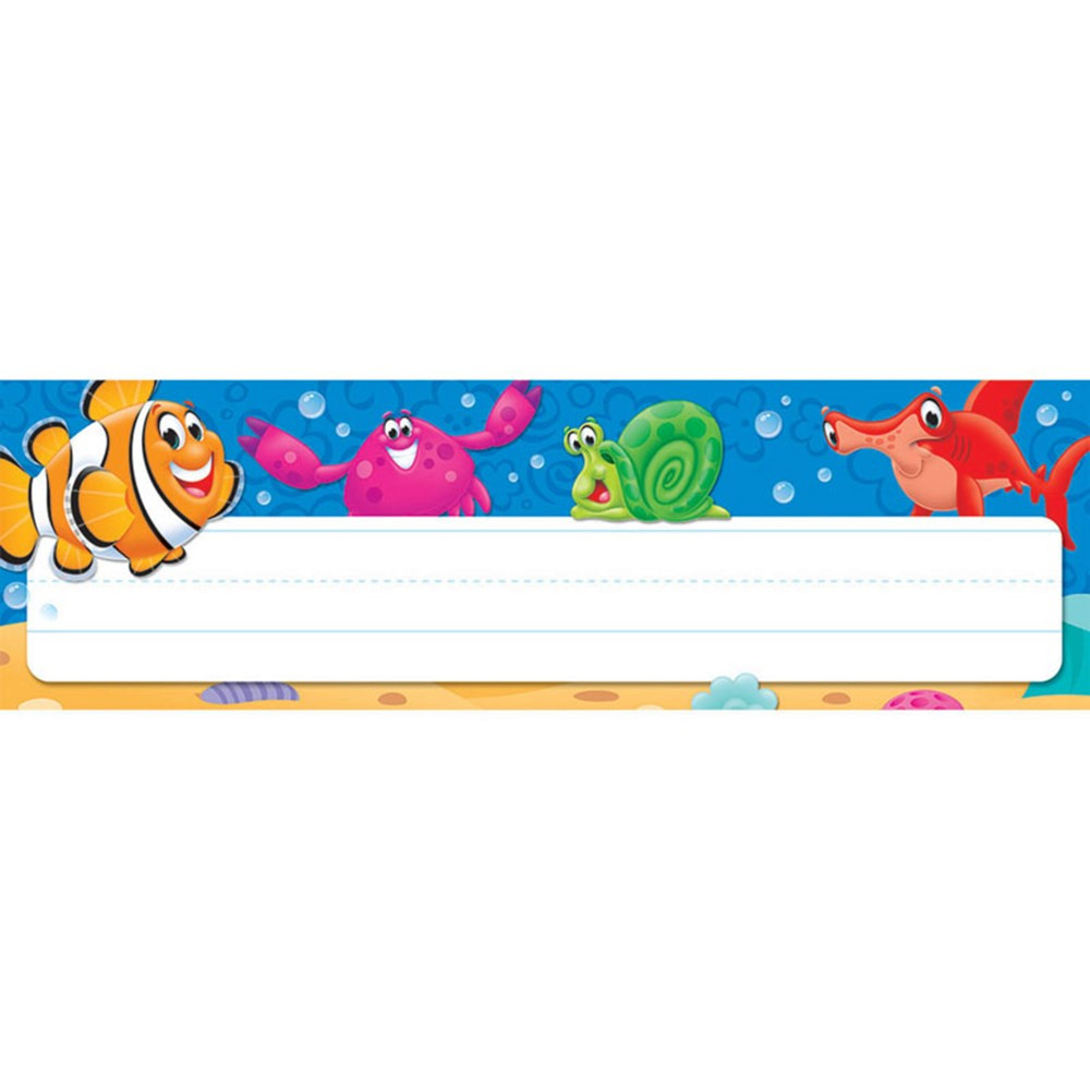 Sea Buddies Desk Toppers Name Plates T 69243 Trend