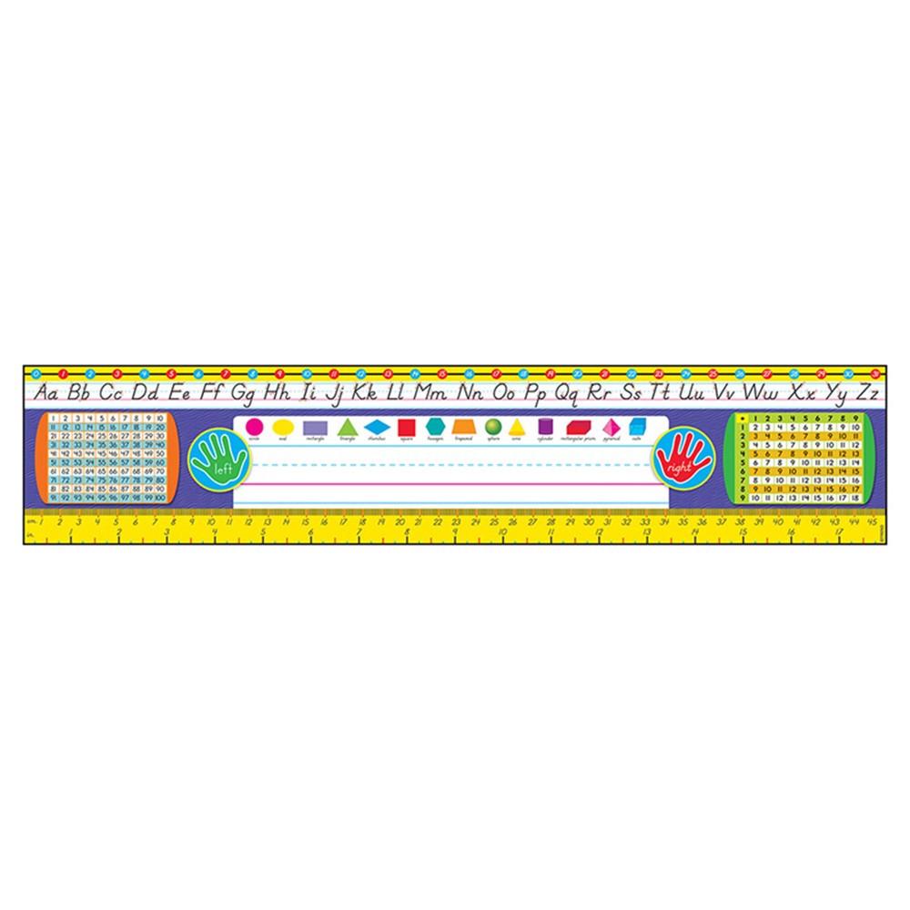 grades 23 modern desk toppers ref name plates t69405
