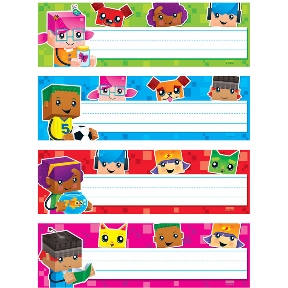 Blockstars Desk Toppers Name Plates Vpk T 69954