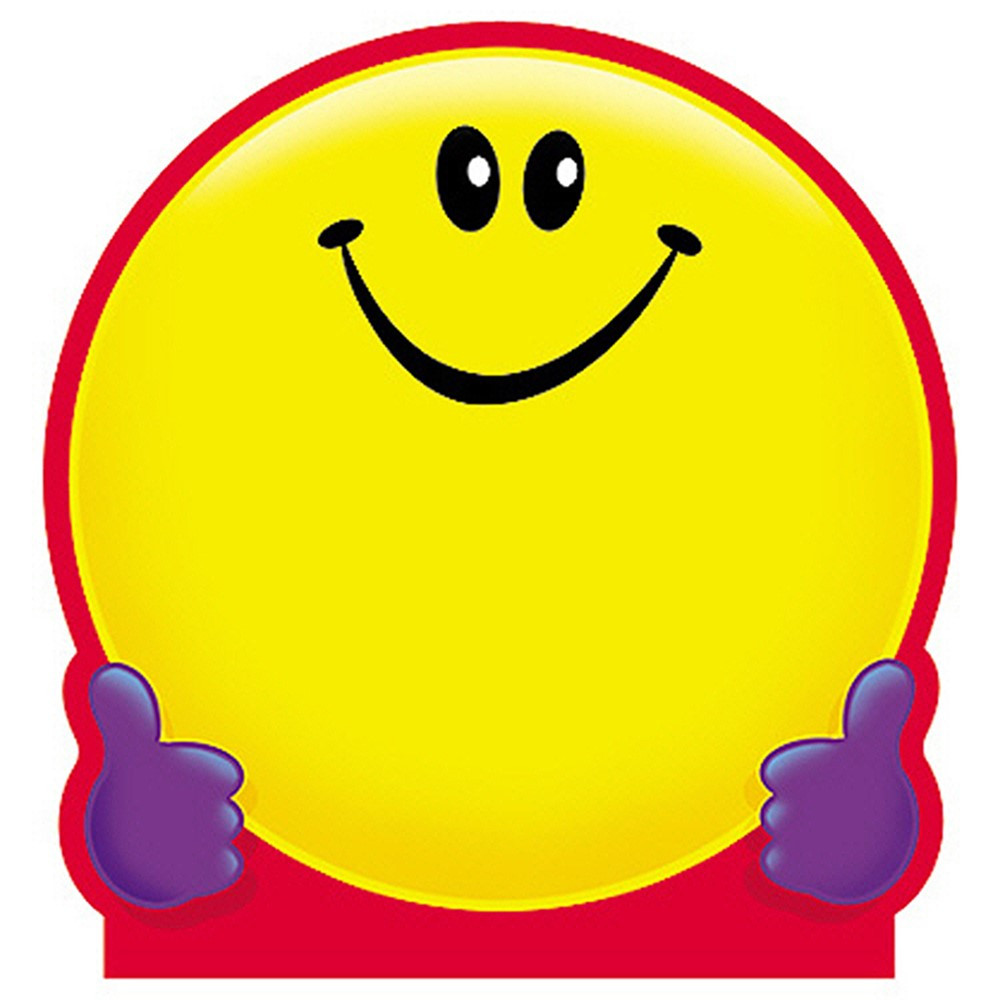 T-72013 - Note Pad Smiley Face 50 Sht 5X5 Acid Free in Note Pads