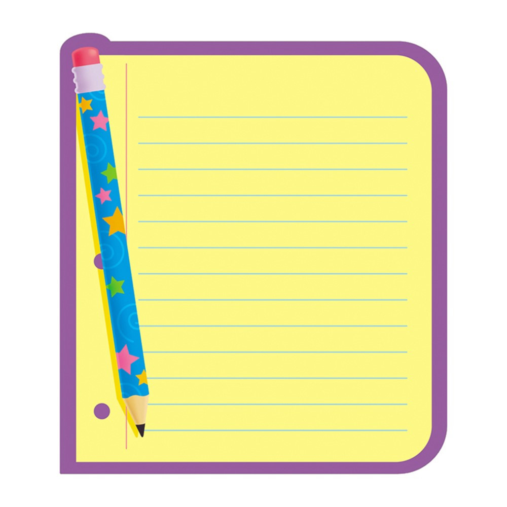 Note Paper Note Pad Shaped T 72029 Trend Enterprises Inc