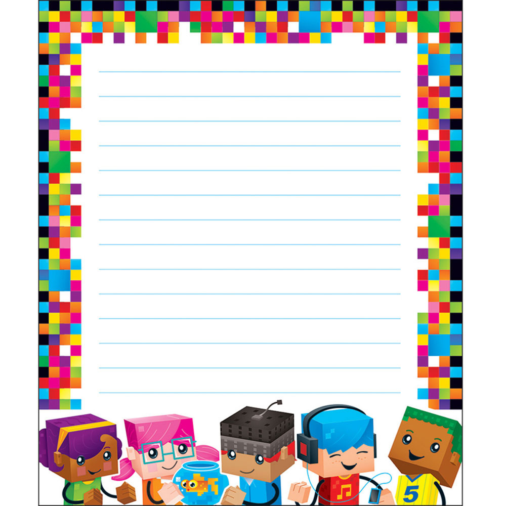 T-72369 - Blockstars Note Pad in Note Pads