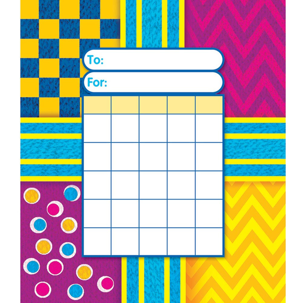 T-73029 - Snazzy Incentive Pad in Incentive Charts