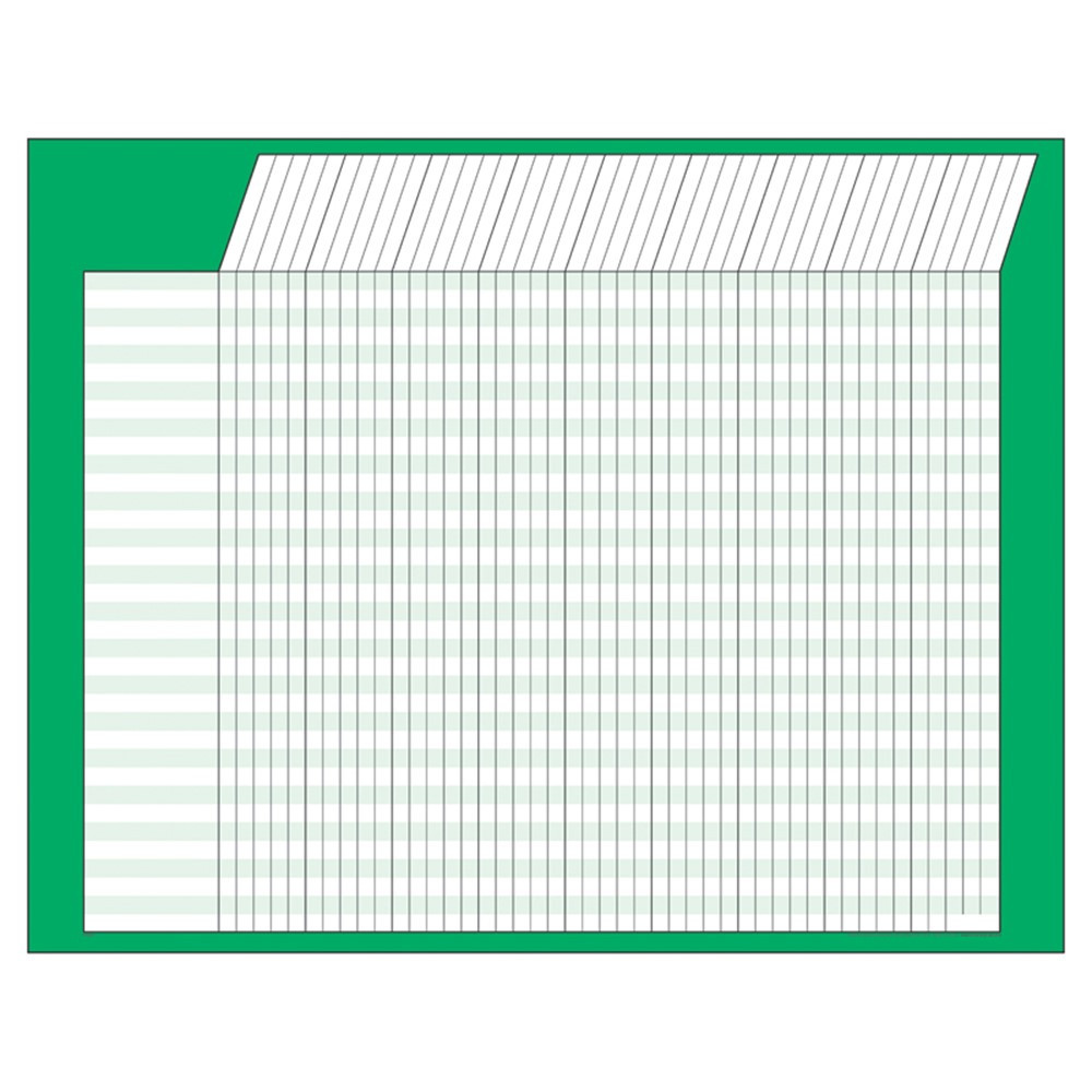 T-73213 - Incentive Chart Horizontal Green in Incentive Charts