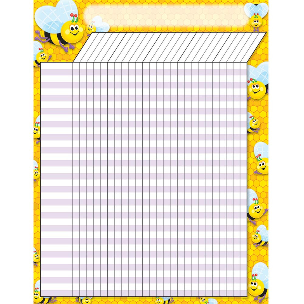 T-73302 - Incentive Chart Bees 17 X 22 in Incentive Charts