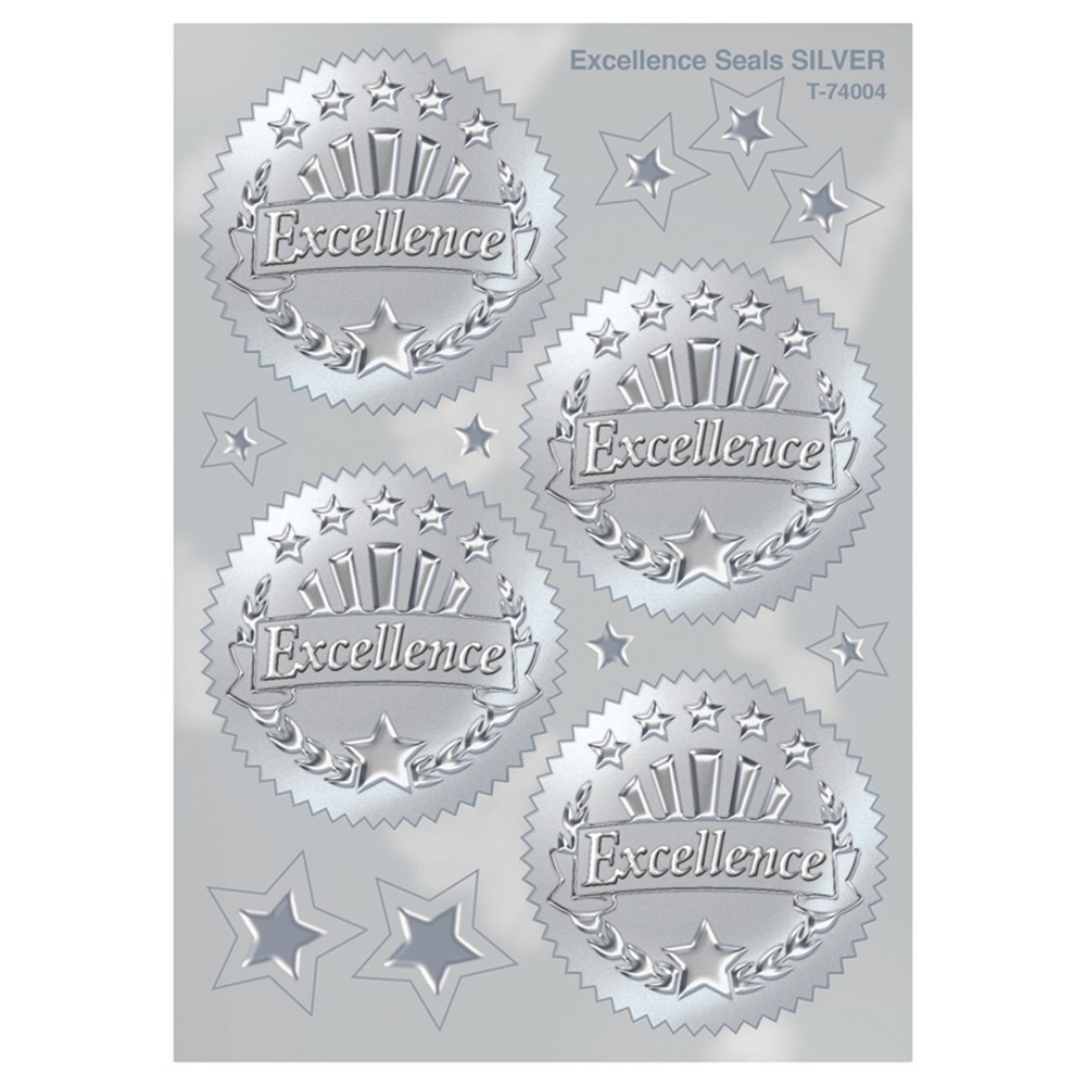 T-74004 - Award Seal Excellence Silver in Awards