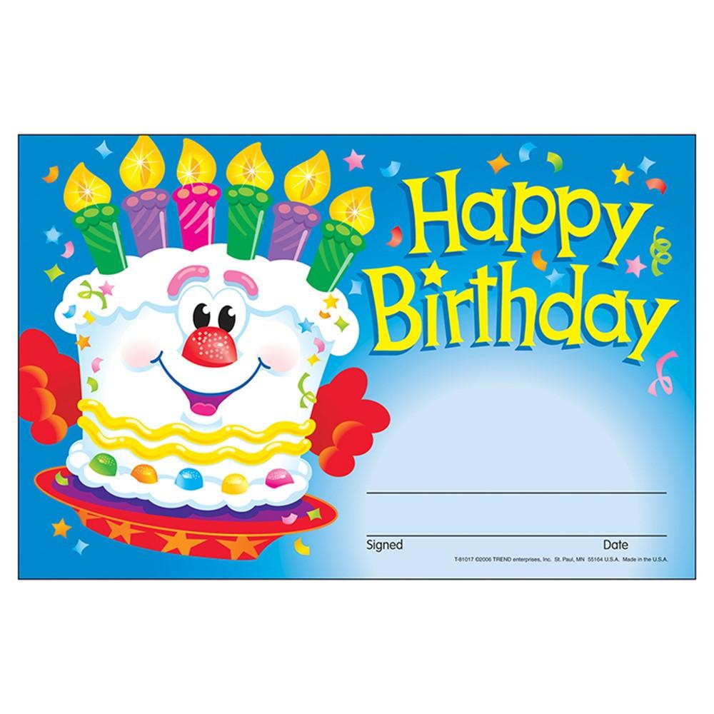 T-81017 - Awards Happy Birthday Cake in Awards