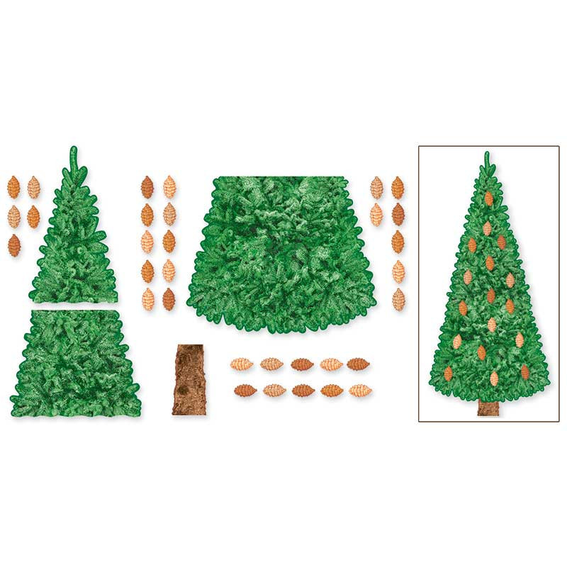 T-8223 - Bb Set Pine Tree in Holiday/seasonal