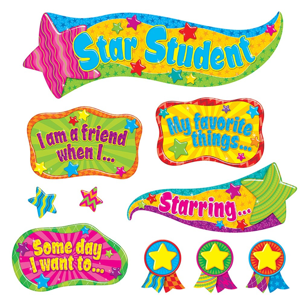 T-8278 - Youre The Star Bulletin Board Set in Motivational