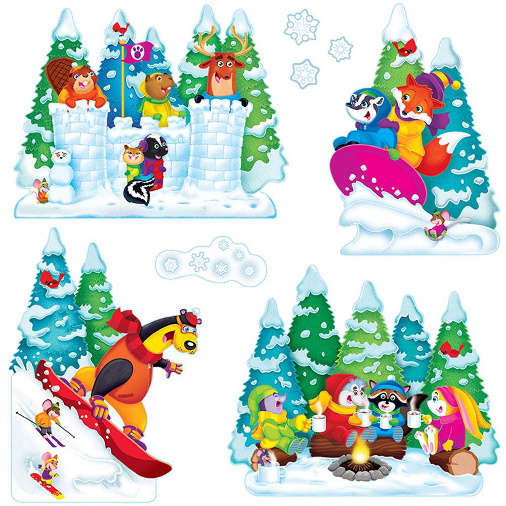 stunning Winter Bulletin Board Sets Part - 9: Wonderful Winter Bulletin Board Set