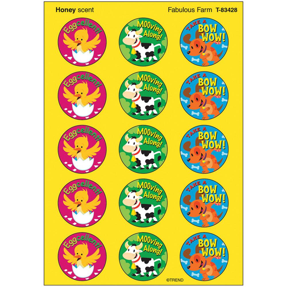 T-83428 - Stinky Stickers Fabulous Farm in Stickers