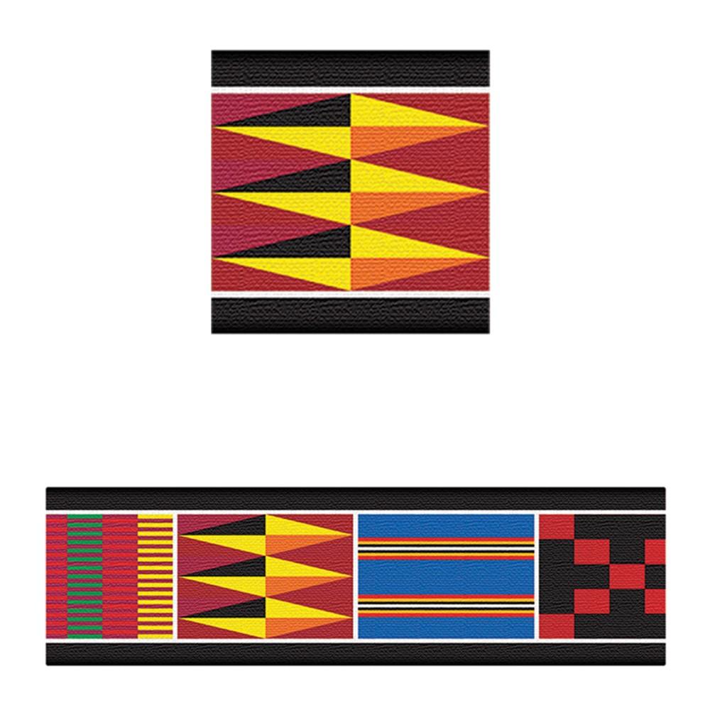 T-85079 - Bolder Borders African Weave in Border/trimmer