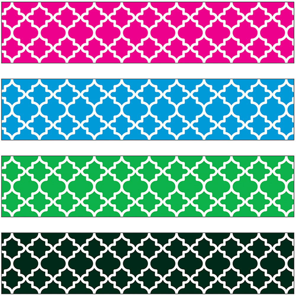 Moroccan Border Variety Pack T 85904 Trend Enterprises
