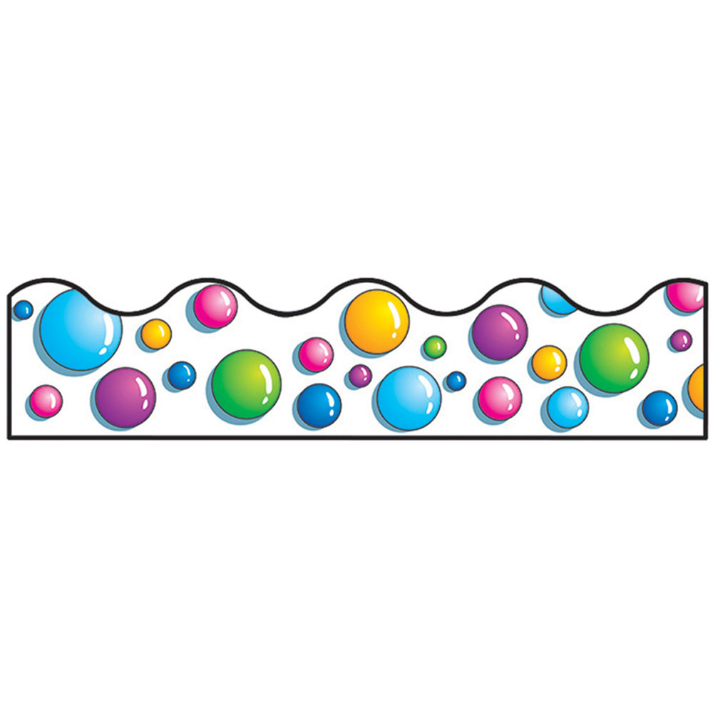 T-91305 - Trimmer Lots O Bubbles in Border/trimmer