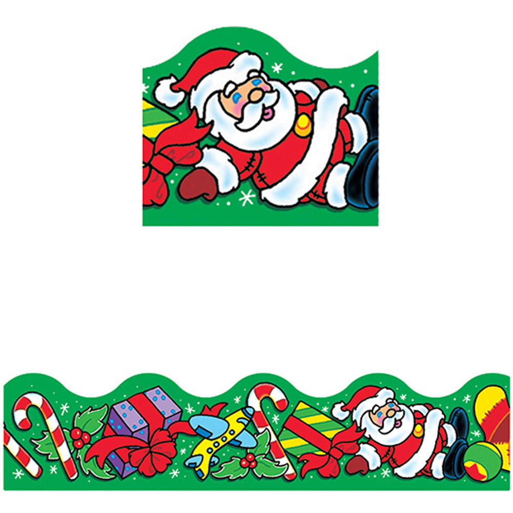 T-92008 - Trimmer Christmas Toys in Border/trimmer