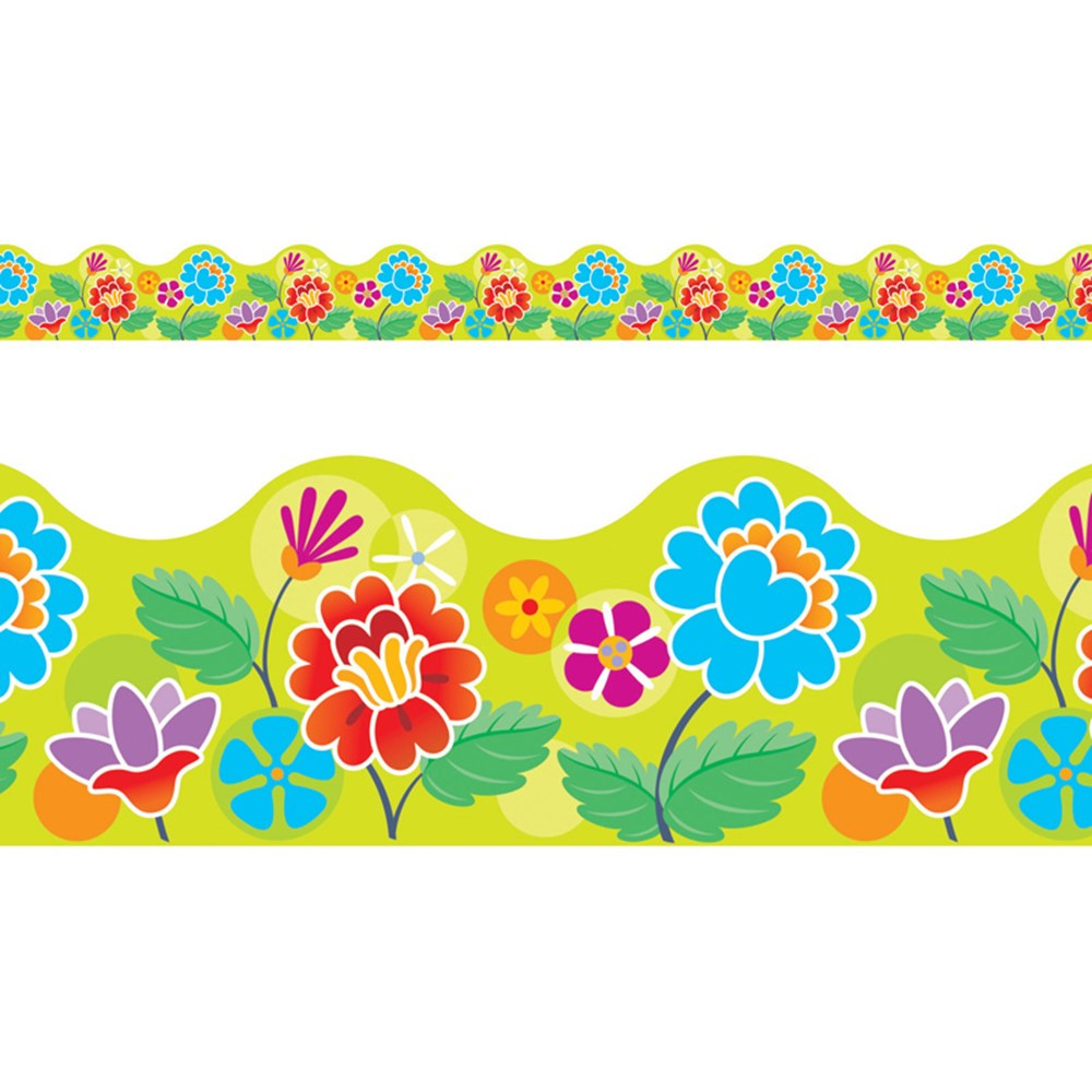 T-92362 - Floral Garden Terrific Trimmers in Border/trimmer