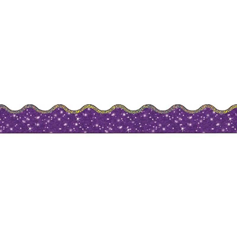 T-92506 - Trimmer Super Sparkle Purple in Border/trimmer