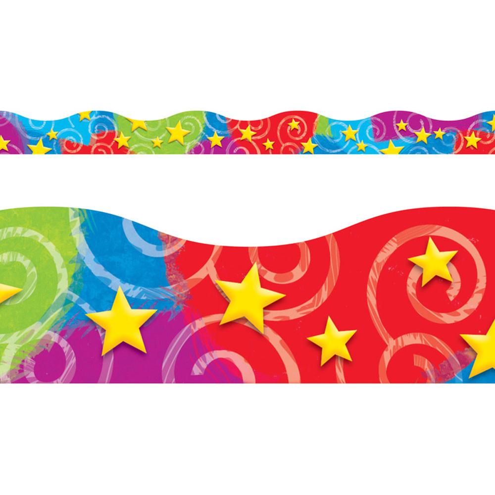 T-92610 - Stars N Swirls Terrific Trimmers in Border/trimmer