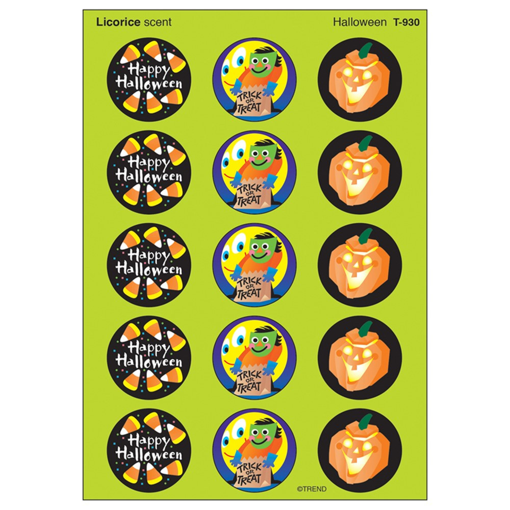 T-930 - Stinky Stickers Halloween in Holiday/seasonal