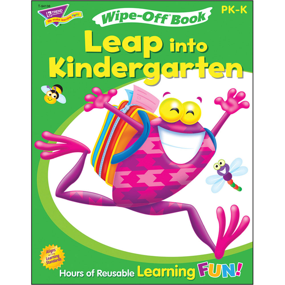 T-94138 - Get Ready For K-2 Frog-Tastic in Language Arts