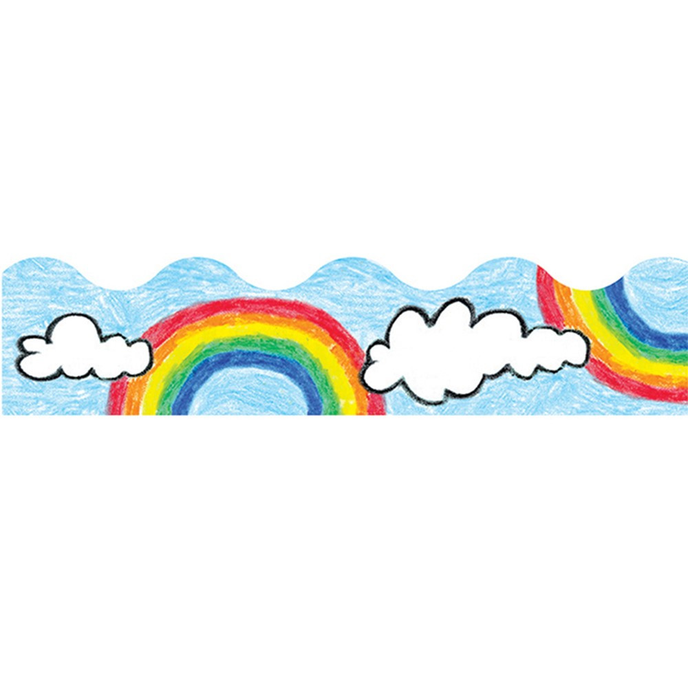 T-9882 - Trimmer Rainbow in Border/trimmer