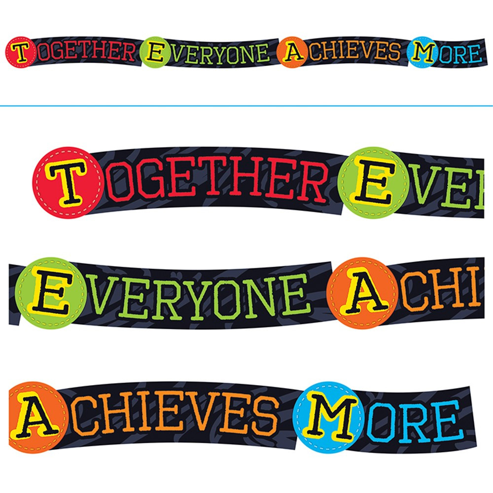 T-A25220 - Together Everyone Achieves More Banner in Motivational