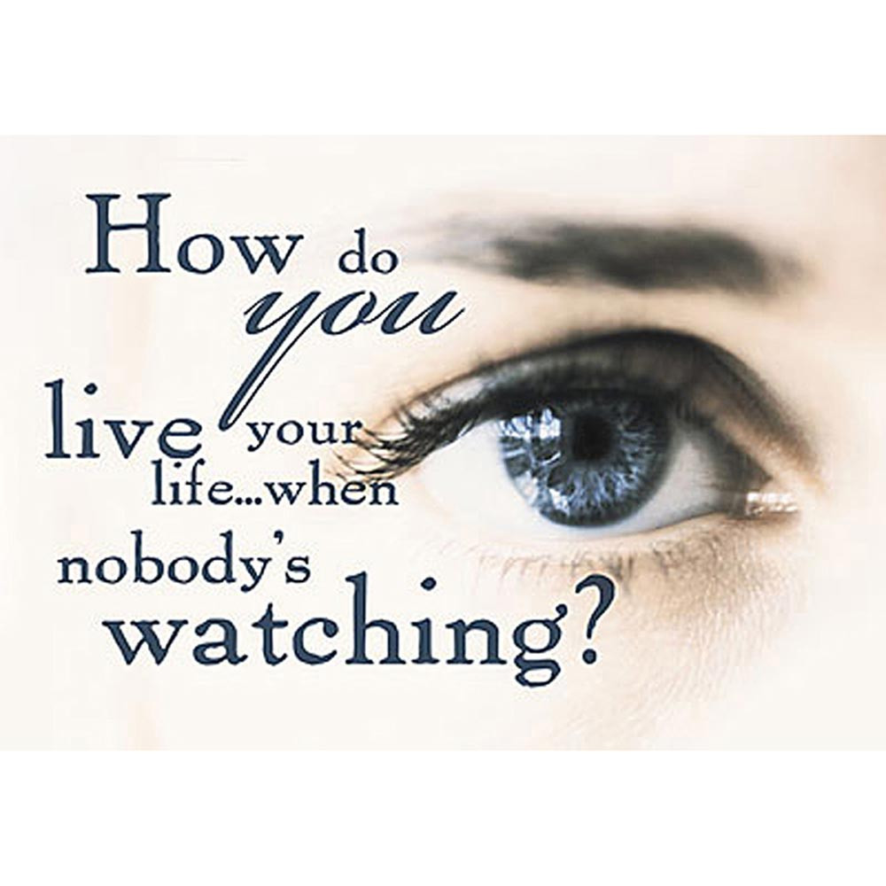 T-A63133 - Poster How Do You Live Your Life in Motivational