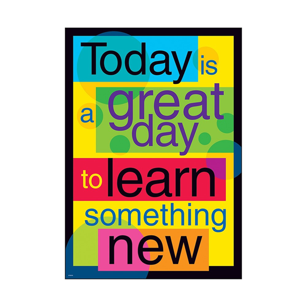 T-A67107 - Poster Today Is A Great Day To in Motivational