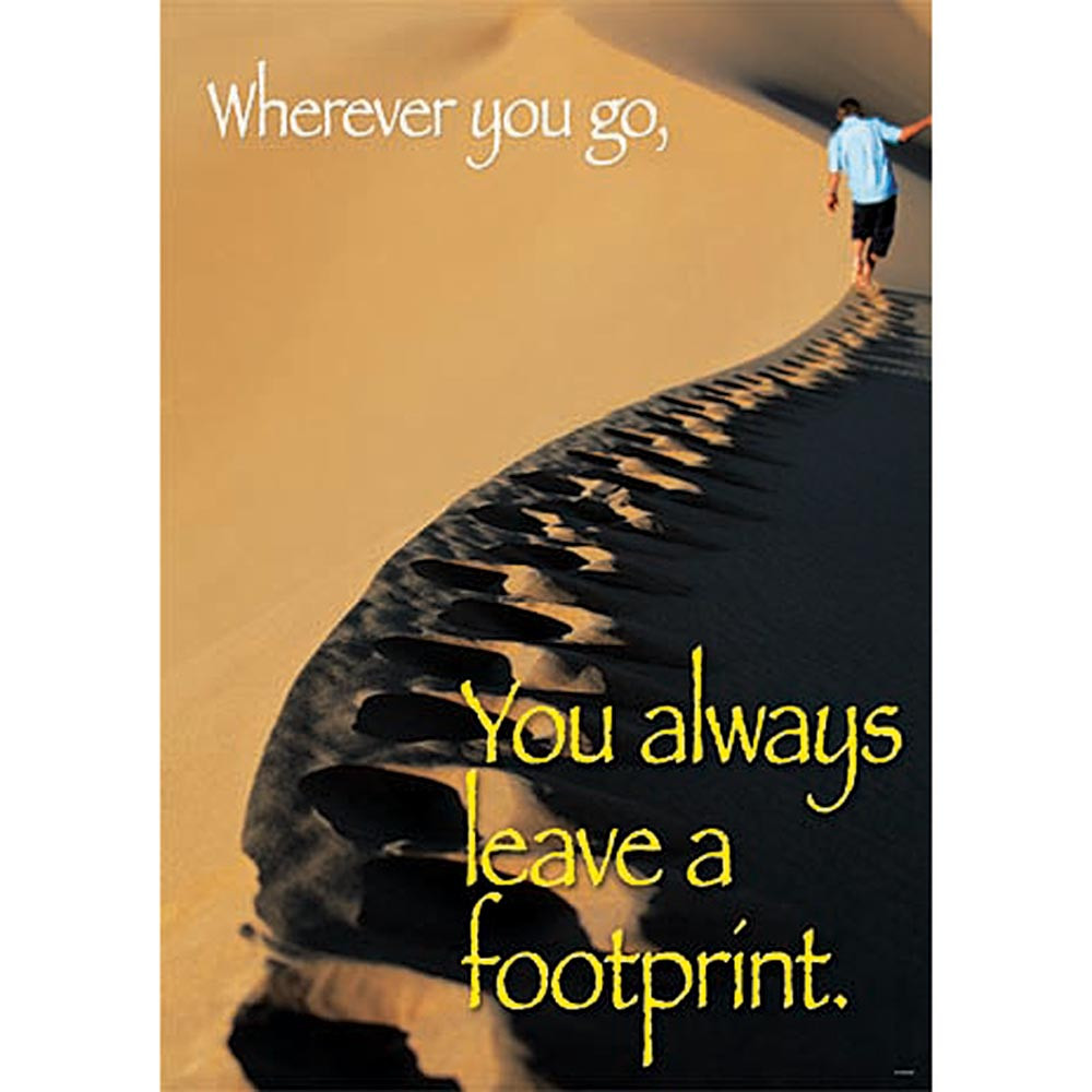 T-A67244 - Wherever You Go You Always Large Posters in Motivational