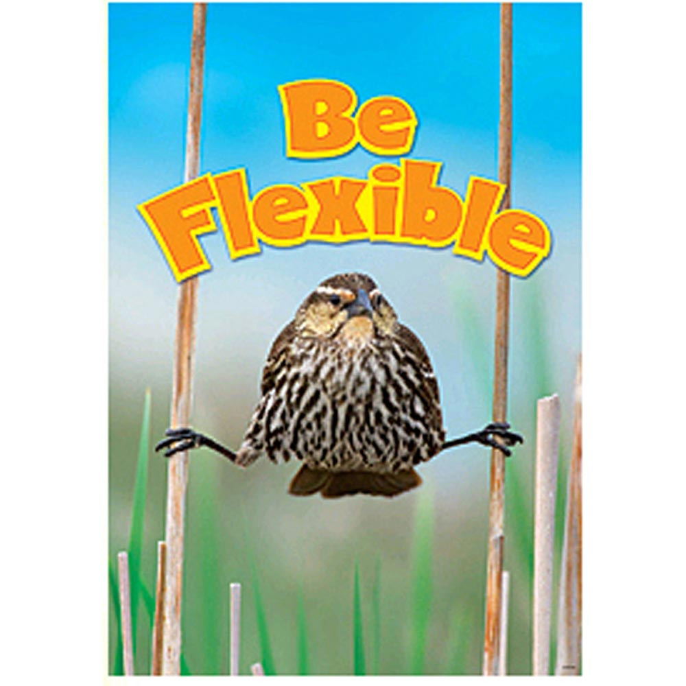 T-A67280 - Poster Be Flexible Argus in Motivational