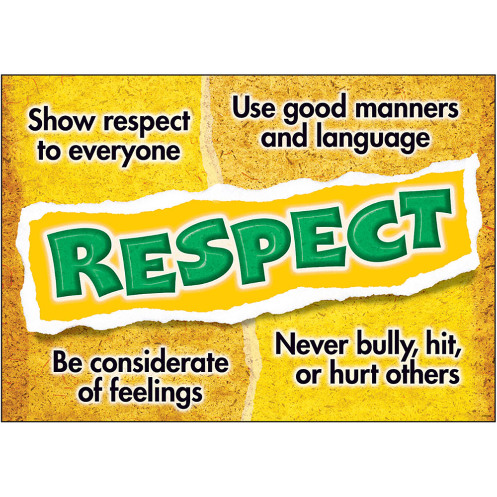 T-A67303 - Respect Poster in Motivational