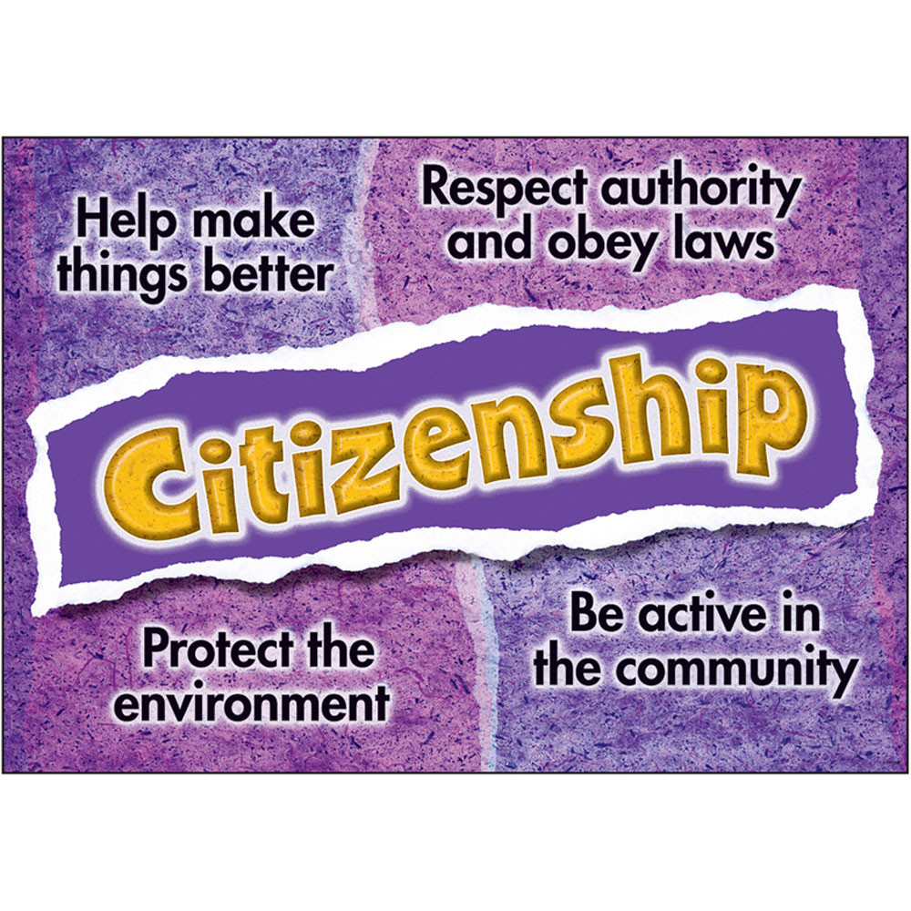 T-A67306 - Citizenship Poster in Motivational