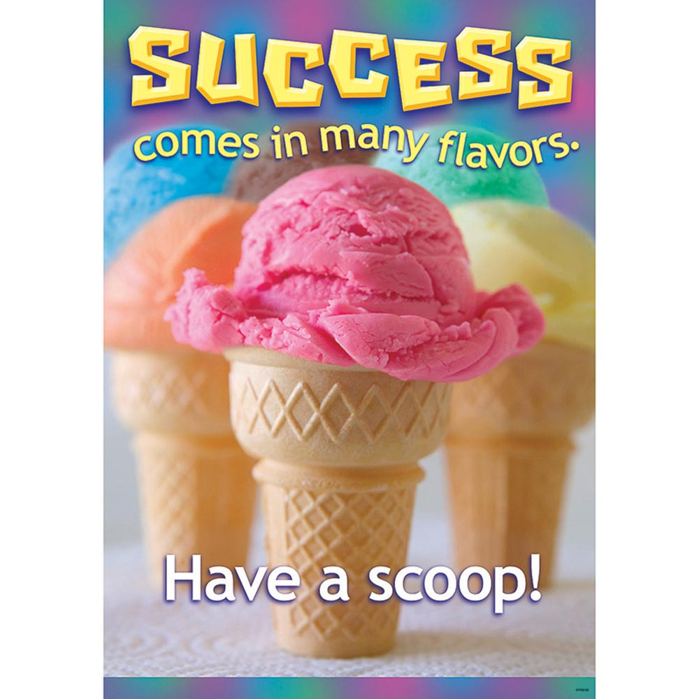 T-A67311 - Success Comes In Many Flavors Poster in Motivational