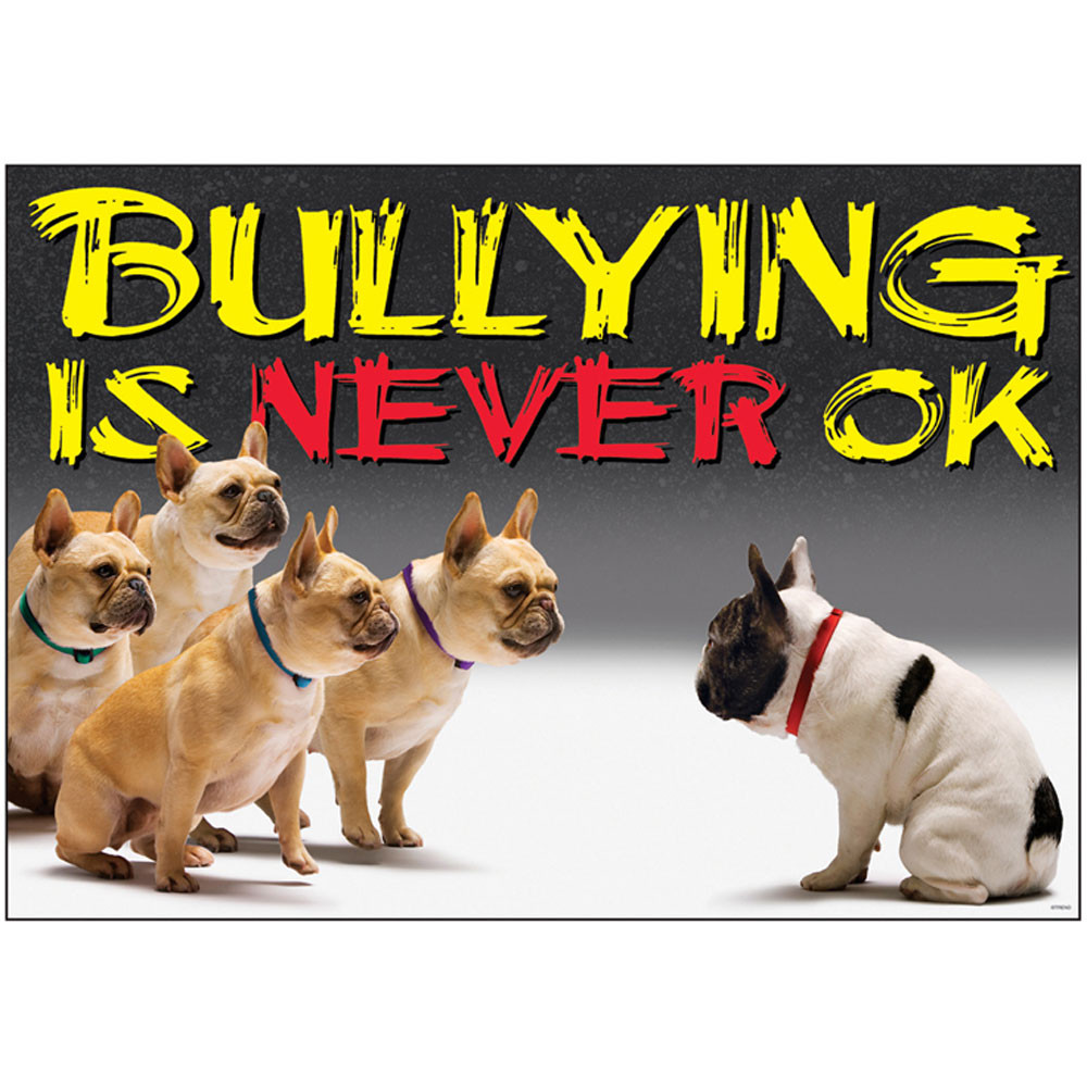 T-A67356 - Bullying Is Never Ok Argus Large Poster in Motivational