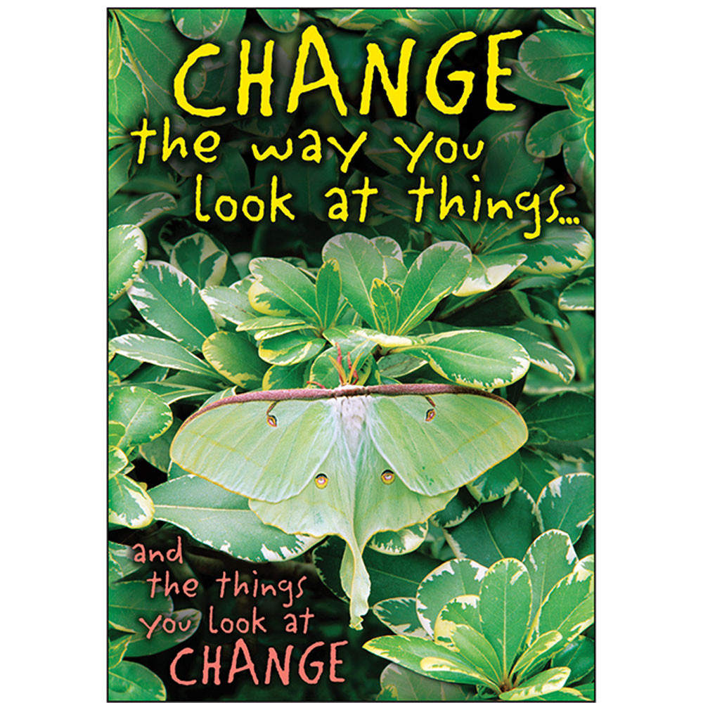T-A67399 - Change The Way You Look At Things Poster in Motivational