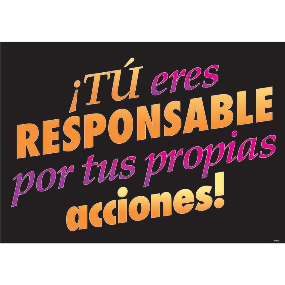 T-A67504 - Tueres Responsible Por Tus Propias in Charts