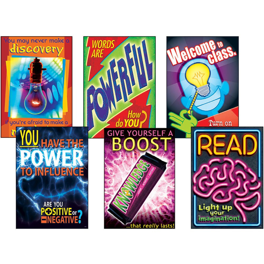 T-A67917 - Energize Learning Combo Sets Argus Posters in Science