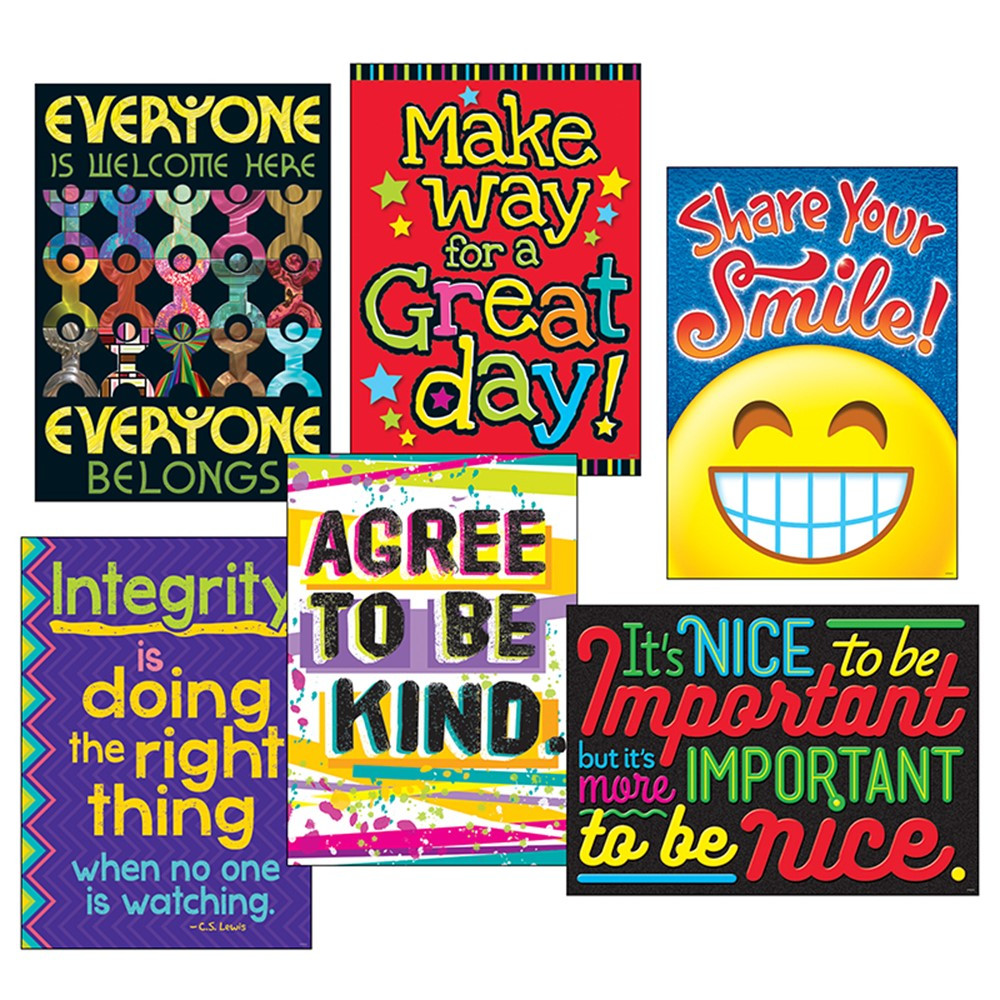 T-A67938 - Kindess Matters Poster Combo Pk Argus in Motivational