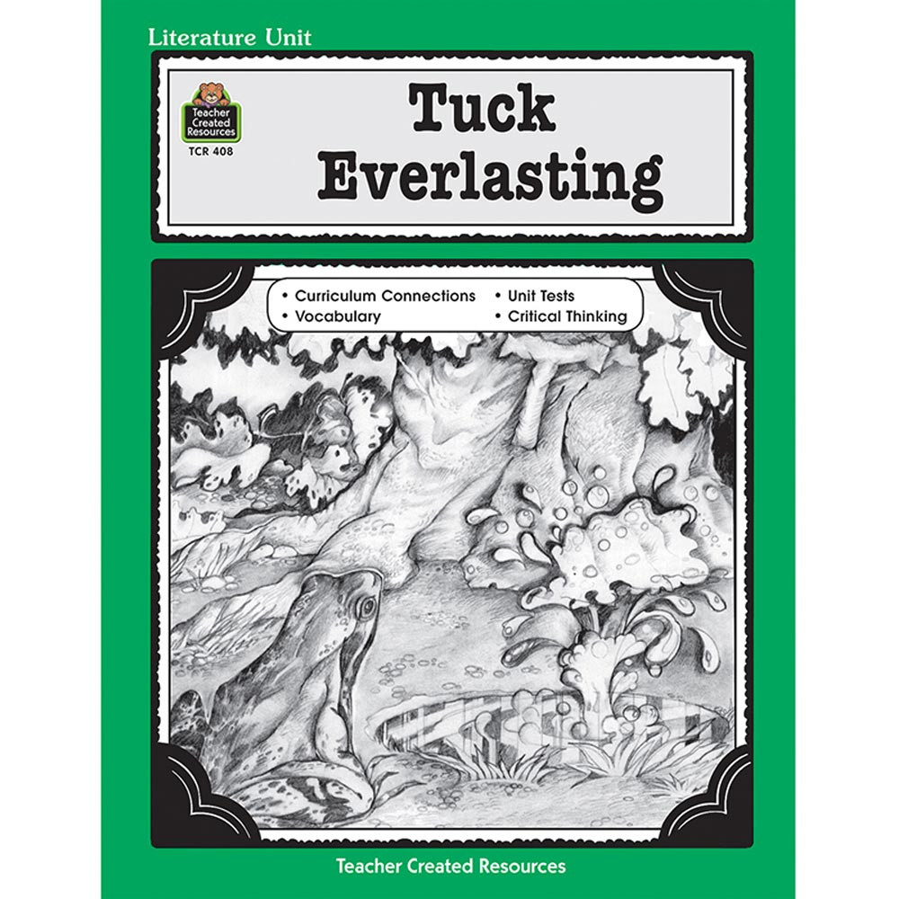 a literary analysis of tuck everlasting Learn the major plot points of tuck everlasting directed by jay russell   however, it also demonstrates how extraneous a character the man in the yellow  suit.