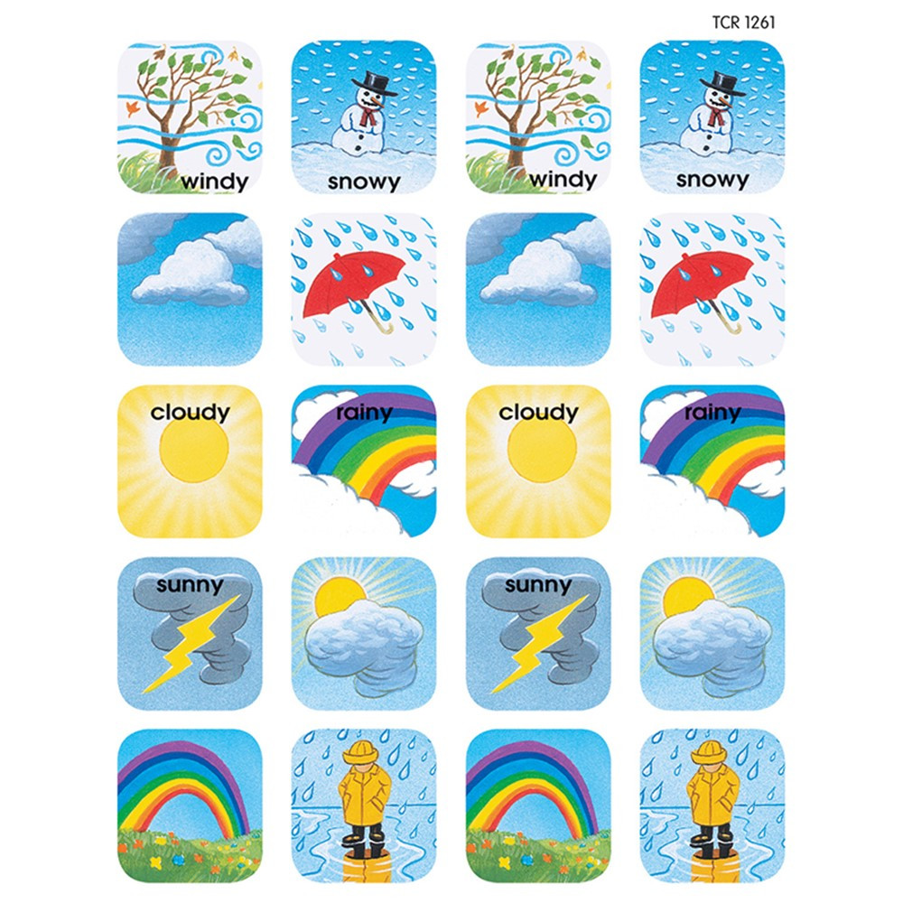 TCR1261 - Stickers Weather in Stickers