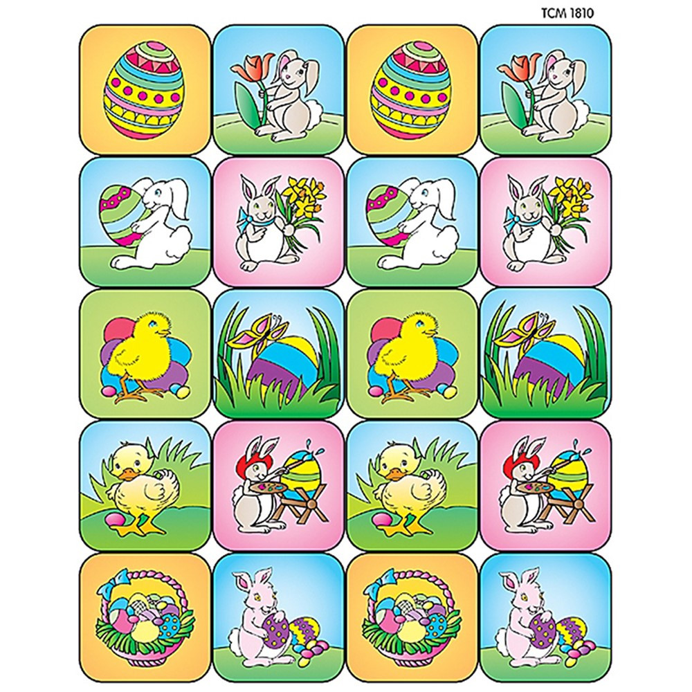 TCR1810 - Easter Stickers in Holiday/seasonal