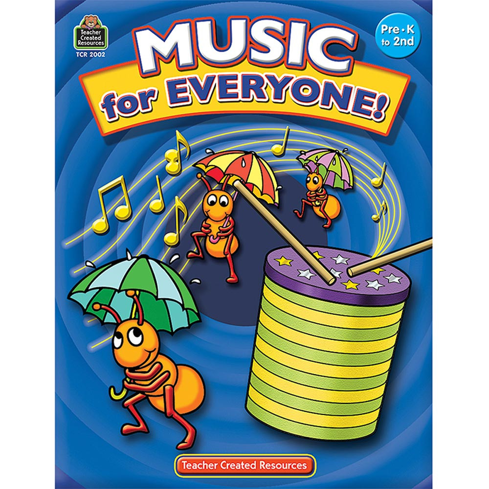 TCR2002 - Music For Everyone Gr Pk-2 in Activity/resource Books